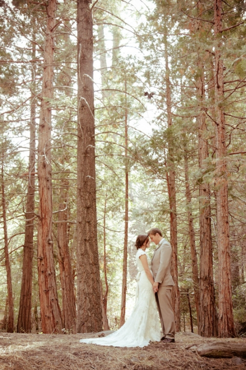Wedding dani derek part two california wedding for Wedding in the woods california