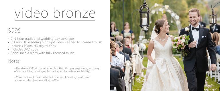 Traditional wedding prices utah video bronze