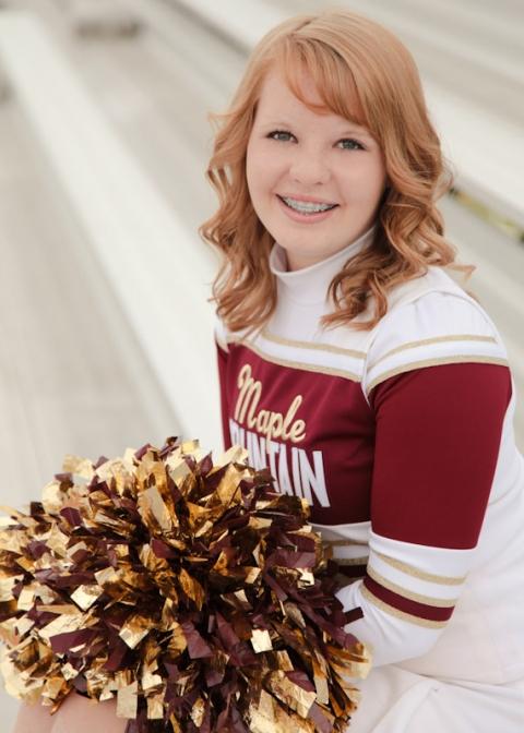 Cheerleader Group Portraits Utah Portrait Photographer Elisabeth Kate Photography EK